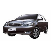 Discos De Freio Dianteiros + Traseiros Toyota Corolla 03-08