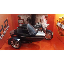 Sidecar Harley Davidson, Road King Classic 2001, Escala 1:18