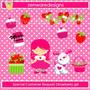 Kit Imprimible Frutillita Imagenes Clipart