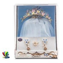 Disfraz Cenicienta Conjunto Accesorios Deluxe Disney Store