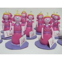 Souvenir Dulce Princesa/ Hora De Aventura En Porcelana Fría