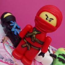Lego Ninjago Porcelana Fría Adorno Para Torta