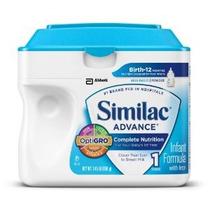 Similac Advance Fórmula Infantil Con Hierro Etapa 1 Polvo 23