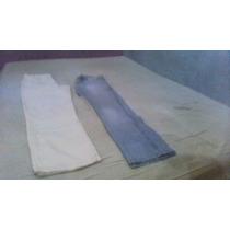 1calças Cargo N38 E Uma Jeans Clara Marca Guitta Rio N38