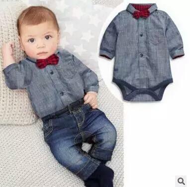 b71daf6964a93 Conjunto Mameluco Ropa Casual Para Bebe Niño 3 Piezas -   649.99 en ...