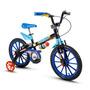 Bicicleta Infantil Nathor Aro 16 Tech Boys Menino