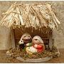 Pesebre Miniatura Santa Navidad De La Familia Juego De Nati