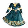 Vestido Disfraz Merida Valientes Disney Store Usa Original