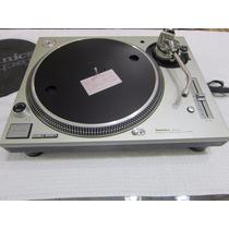 Toca Disco Technics Sl-1200 Mk5 Prata (original De Fábrica)