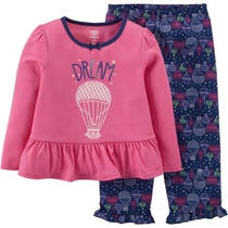 Pijama Blusa Pantalón Carters 12 Y 24 Meses Envio Gratis