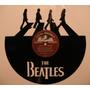 Vinilo Decorativo Con Imagen The Beatles.