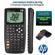 Calculadora Gráfica Hp 50g Com Capa Protetora