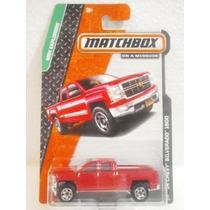 Matchbox Camioneta 14 Chevy Silverado 1500 Rojo 1:64