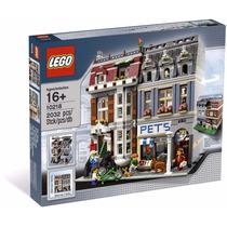 Lego 10218 Pet Shop, Tienda De Mascotas Creator, Envio Y Msi
