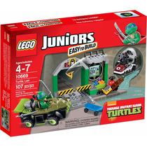 Lego Juniors - Toca Das Tartarugas Ninja 10669 - 107 Peças