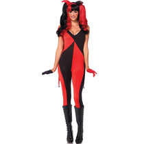Disfraz Catsuit Arlequin Super Sexy Leg Avenue Disfraz Mujer