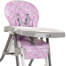 Estofado Da Cadeira Merenda Burigotto Cubes Rosa