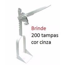 Arrolhador Tampadora De Garrafas + 200 Tampas
