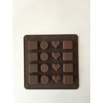 Molde De Silicon Para Hacer Chocolates Gourmet