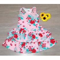 Vestido Infantil Verão Malha