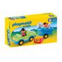 Playmobil 6958 Auto Con Remolque Y Caballo 123 Original