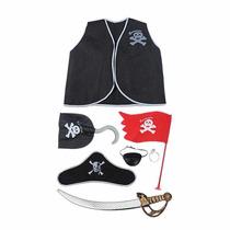 Kit Piratas Fantasia Infantil