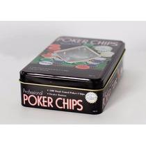 Fichero Poker Lata 100 Fichas