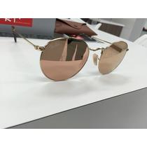 Oculos Ray Ban Rb3447 N Round Metal 001/z2 50 Lente Reta