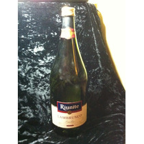 Botella Decorativa Riunite Lambrusco