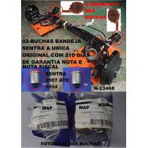 2 Buchas Refil Do Eixo Traseiro Nissan Sentra 2007 Em Diante