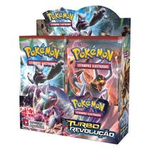 Box 36 Booster Cards Pokémon Xy Turbo Revolução