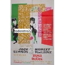 Afiche Irma La Dulce Jack Lemmon, Shirley Maclaine 1960