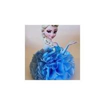 Pompones De Papel De Seda 20 Cts Frozen, Princesas, Peppa