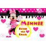 Kit Imprimible De Minnie Rosa Cebra Diseña Tarjetas Cotillon