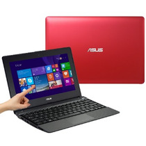 Notebook Asus Amd A4-1200, 2gb, Hd 320gb Touch 10,1 Vermelho