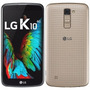 Smartphone Lg K10 Dual Chip Dourado 5.3 13mp 16gb Tv Digital