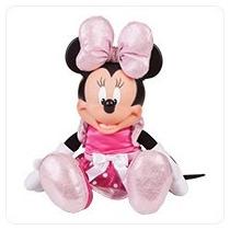 Boneca Minnie Bow Tique Multibrink 42cm Fala E Acende