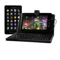 Tablet Phaser Pc-709kb Android + Teclado De Brinde Vitrine