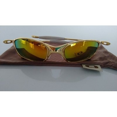 569266f19 Oakley Double Xx Juliet X Metal 24k Lente Dourada Iridium - R$ 189,00 em  Mercado Livre