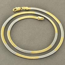 Cadena Oro Laminado 10k 17.5 Pulgadas X 3mm 9.6 Gramos
