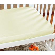 06 Lençóis Avulso P/ Berço Baby Confort C/ Elastico 170 Fios