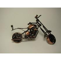 Motocicleta A Escala Metalica - Artesanal
