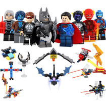 Super Heroes Y Naves Batman Superman Compatible Con Lego