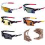 Óculos Esportivo Masculino Feminino Unisex Proteção Uv400