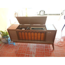 Consola Vintage General Electric 1200 Tocadisco Y Radio