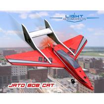 Jato Bob Cat - Rodas,canopy,adesivos E Piloto- Kit P/ Montar