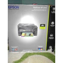 Impresora Epson Wf-2540 + Sistema De Tinta Continuo Nuevo