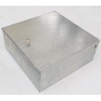 Registro Telefónico 30x30x13cm Galvanizado Caja Metálica