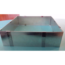 Aro Cuadrado Rectangular Extensible Doble 25x25cm Reposteria