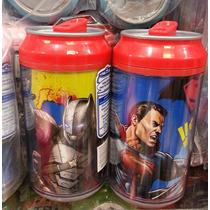 Fiesta Batman Vs Supermantermo Lata Cool Gear Dulcero